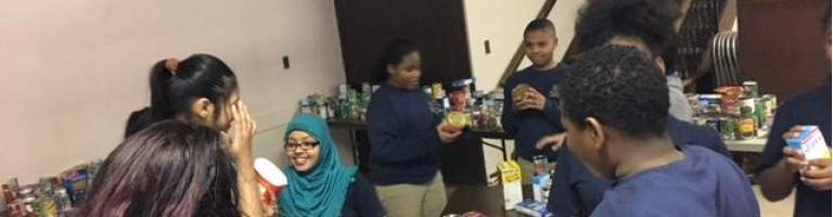 Buffalo Promise Neighborhood Promotes Student Giving Project
